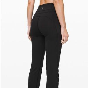 lululemon groove reversible pants